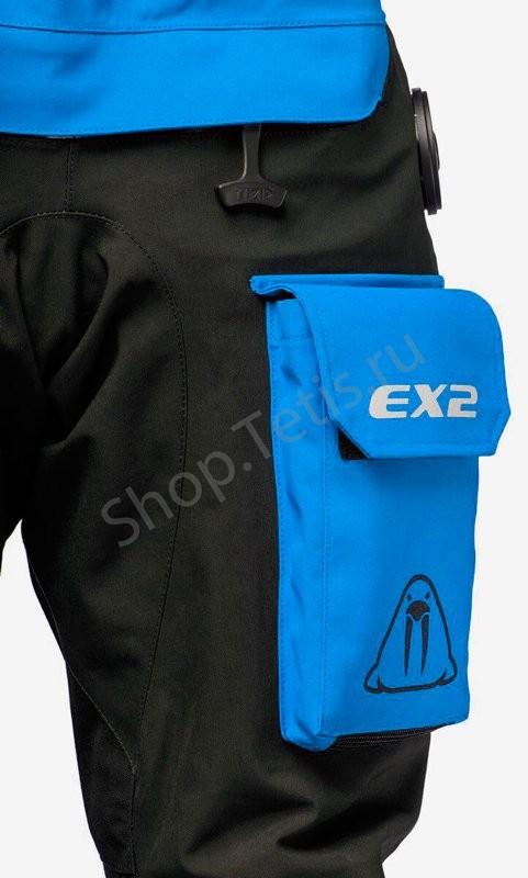 Сухой гидрокостюм для дайвинга и путешествий EX2 WP