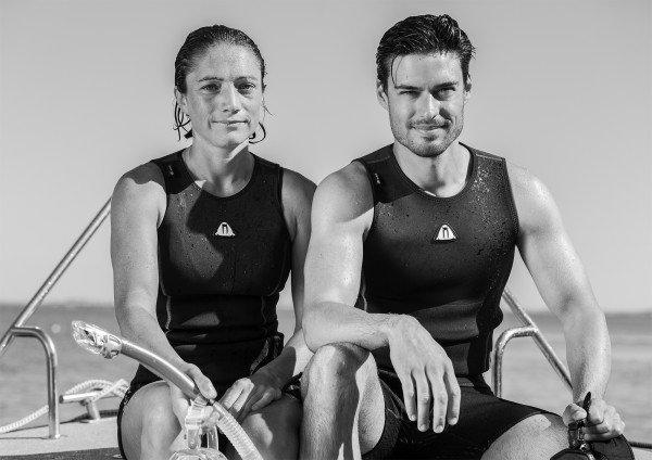 Неопреновая гидромайка U30 2019 Waterproof без рукавов для дайвинга и водных видов спорта
