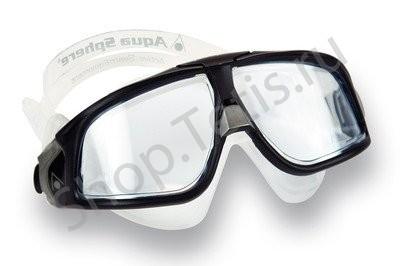 очки полумаска для плавания в бассейне и открытой воде Seal 2