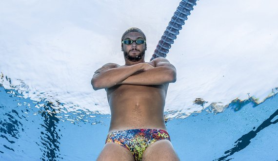 Плавки-слипы для бассейна Kiraly MP. Коллекция Michael Phelps. AquaSphere, Италия