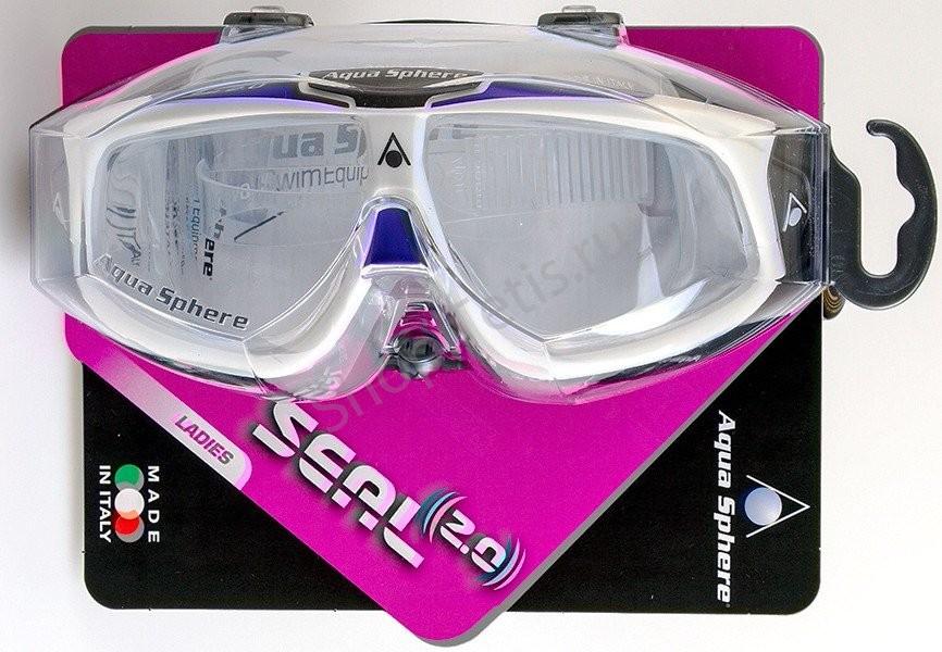 женские очки для плавания в бассейне и открытой воде SEAL 2 Италия
