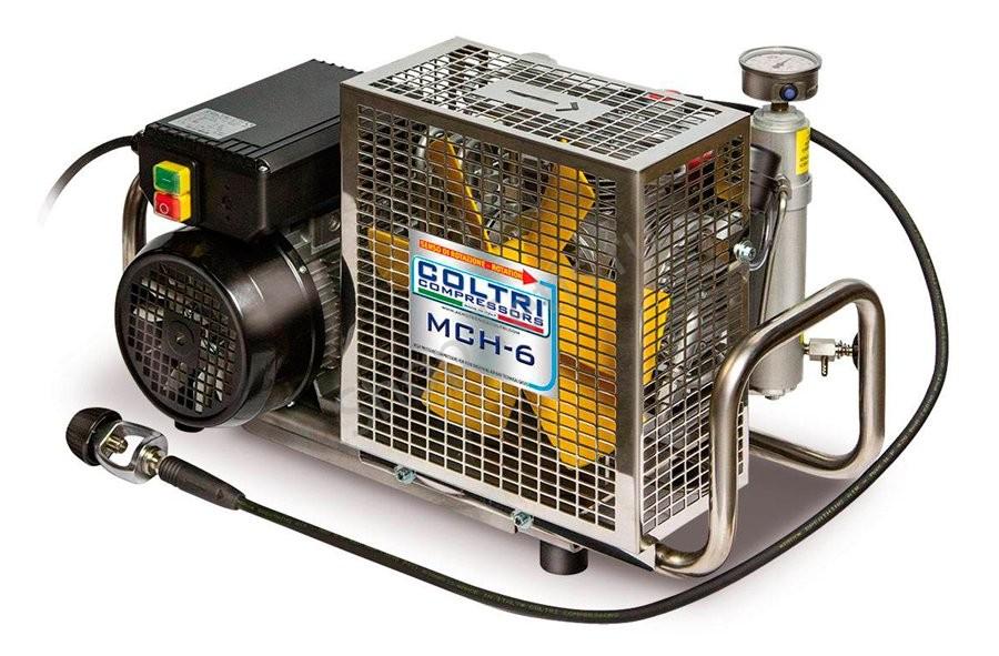 Переносной электрический компрессор Coltri MCH6 EM для дайвинга, 80 л/мин