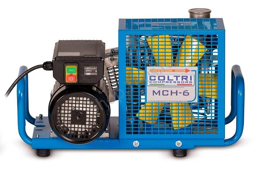 Переносной электрический компрессор Coltri MCH6 EM для дайвинга