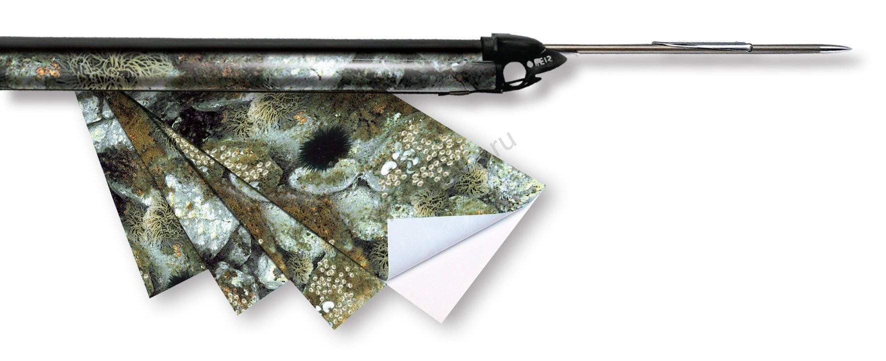 камуфляжные наклейки для подводного ружья
