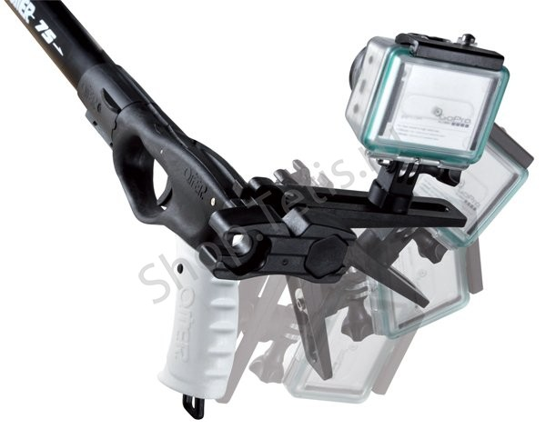 крепление камеры на ствол ружья кайман