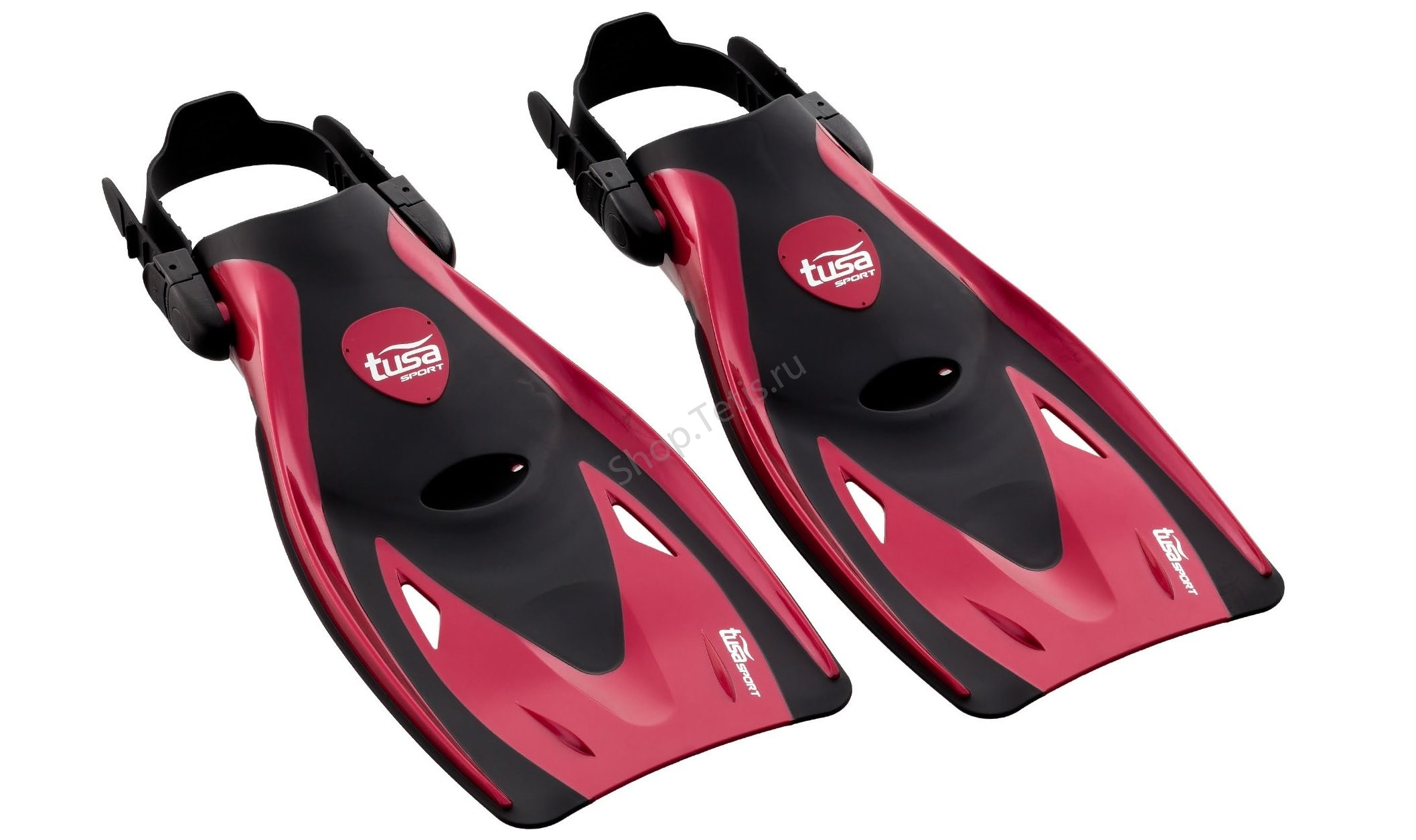Ласты короткие для плавания Tusa Sport Black Series
