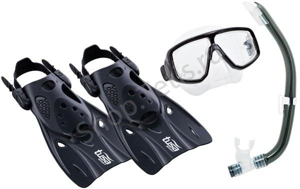 Комплект TUSA Sport маска+трубка+ласты UPR0101